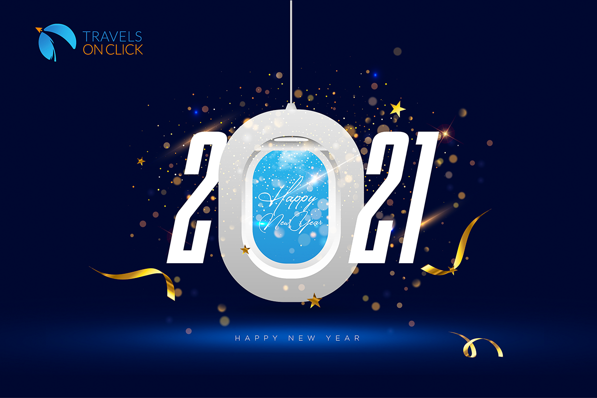 Happy new year from Travels on click