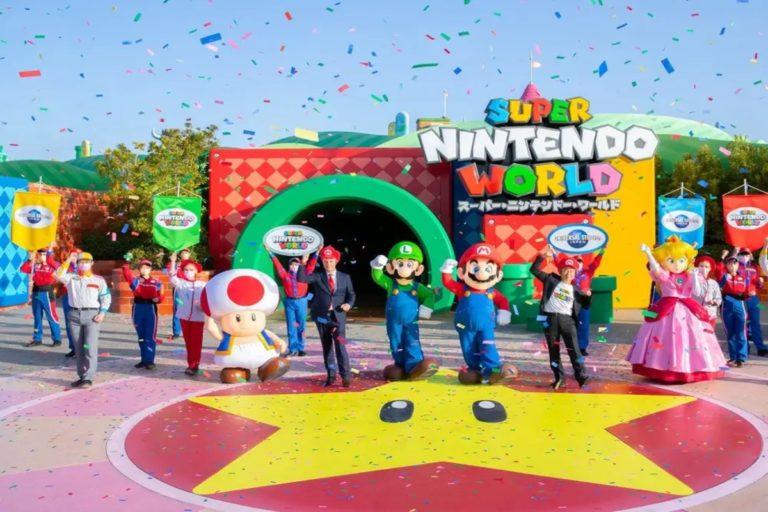 Super Mario theme park Japan